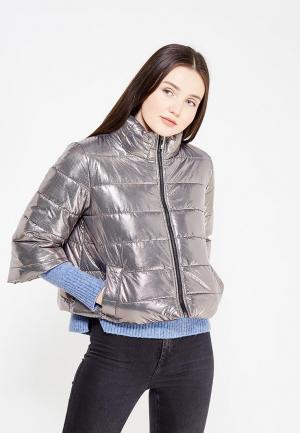 Куртка утепленная Rinascimento. Цвет: золотой