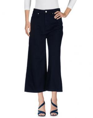 Джинсовые брюки EACH X OTHER. Цвет: темно-синий