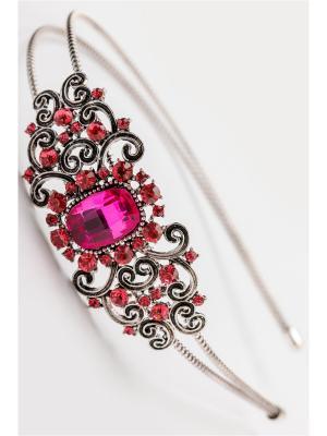 Ободок Fransua Ardy. Цвет: лиловый, бледно-розовый, розовый