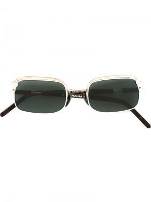 Солнцезащитные очки Z4 Kuboraum. Цвет: металлический