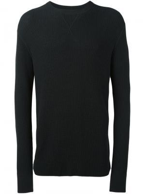 Вязаный свитер T By Alexander Wang. Цвет: чёрный