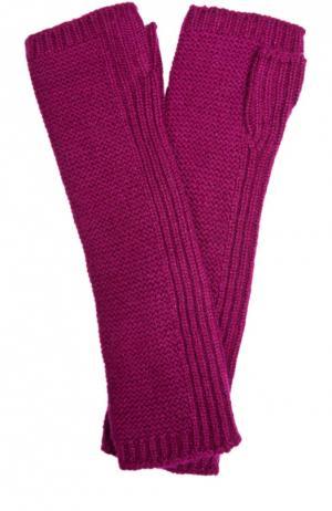 Перчатки Johnstons Of Elgin. Цвет: бордовый