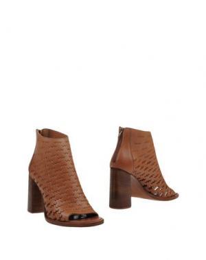 Ботинки STRATEGIA. Цвет: коричневый