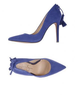 Туфли JESSICA SIMPSON. Цвет: синий