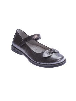 Туфли S`Cool. Цвет: серый