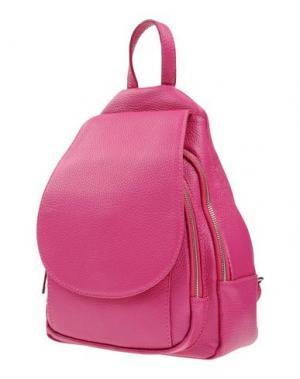 Рюкзаки и сумки на пояс LAURA DI MAGGIO. Цвет: фуксия