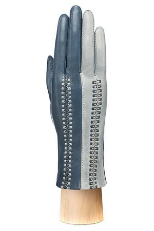 Перчатки Eleganzza. Цвет: темно-синий, светло-се
