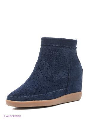 Полусапожки Shoe the Bear. Цвет: темно-синий