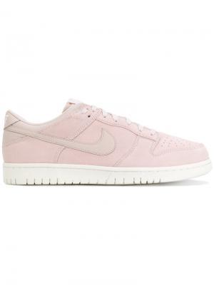 Кеды Dunk Low Nike. Цвет: розовый и фиолетовый