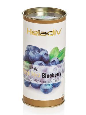 Чай HELADIV HD Round P.T. Blueberry 100 gr черный. Цвет: коричневый