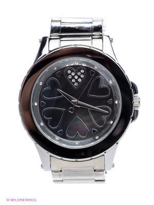 Часы Morgan. Цвет: серебристый