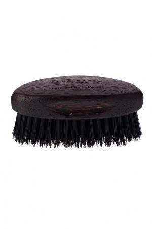 Черная щетка для бороды с основой из дерева Acca Kappa. Цвет: без цвета