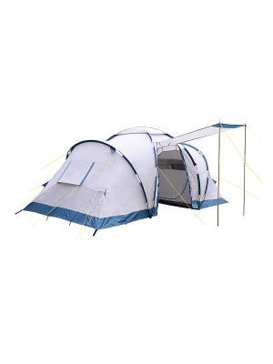 Палатка туристическая двухслойная 4-х местная RHINO 4 Campland. Цвет: серый
