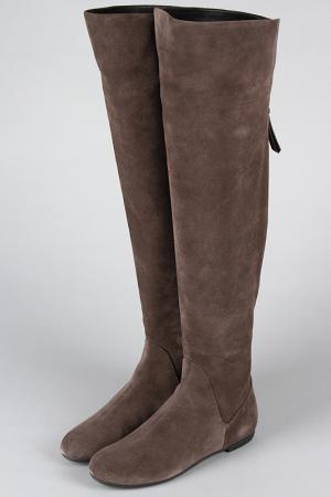 Сапоги Giuseppe Zanotti Design. Цвет: серый, коричневый