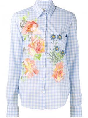 Рубашка Dusty Alice Archer. Цвет: синий
