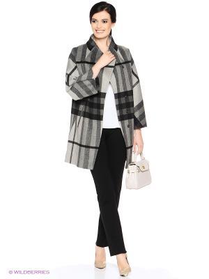 Пальто PARADOX. Цвет: серый