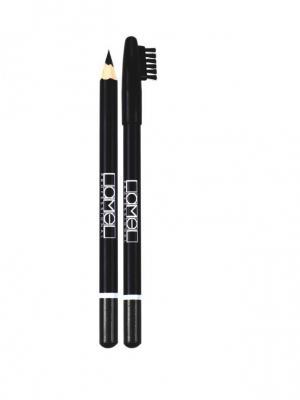 Набор карандашей для бровей, 3 шт.(чёрный, графитовый, темно-коричневый) Lamel. Цвет: черный, темно-коричневый, темно-серый