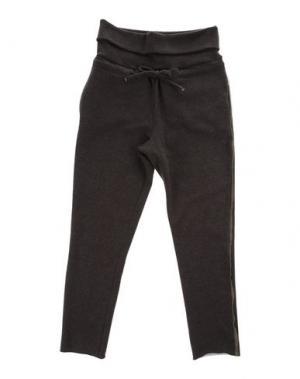 Повседневные брюки LE PETIT COCO. Цвет: темно-коричневый