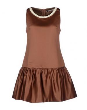 Короткое платье BAGUETTE...... Цвет: коричневый