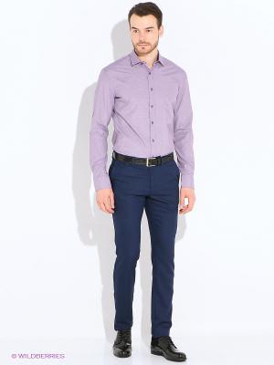 Рубашка Imperator. Цвет: лиловый