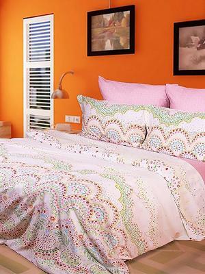 Комплект Dream time. Цвет: розовый, зеленый