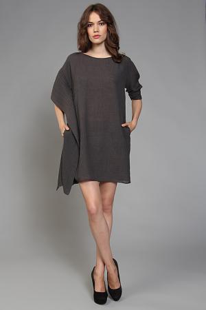 Платье ZERO. Цвет: серый