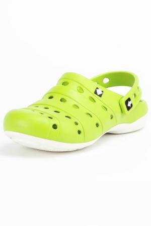 Туфли прогулочные GOW. Цвет: зеленый