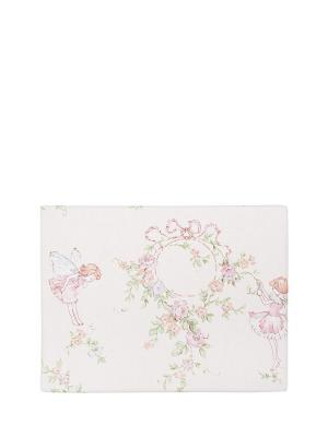 Комплект постельного белья 1,5 сп. Dream time. Цвет: молочный, розовый