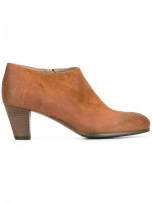 Ботинки по щиколотку Laboratorigarbo. Цвет: коричневый