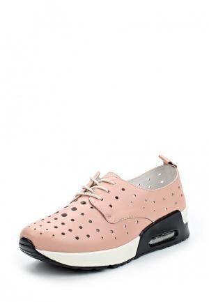 Кроссовки La Grandezza. Цвет: розовый