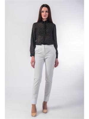 Блузка FOR YOU. Цвет: черный