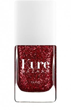 Лак для ногтей с блестками Pigalle Kure Bazaar. Цвет: бесцветный