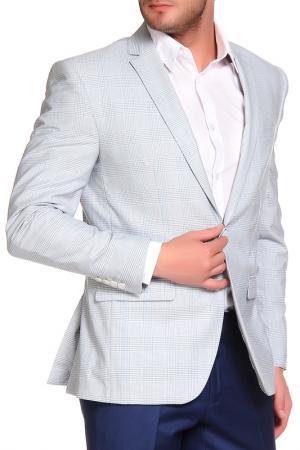 Пиджак Slava Zaitsev. Цвет: голубой