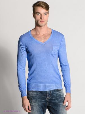 Пуловер HAMAKI-HO. Цвет: синий