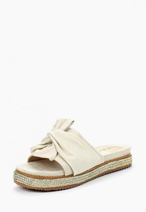 Сабо Sweet Shoes. Цвет: бежевый