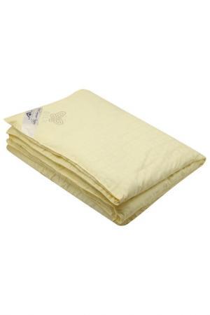 Одеяло шелковое 175х210 ТекСтильный Каприз. Цвет: кремовый