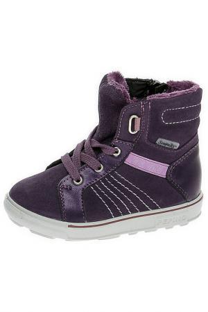 Ботинки Ricosta. Цвет: бордовый
