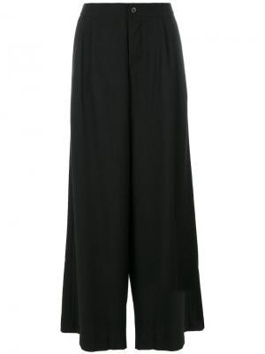 Широкие брюки Tricia Uma Wang. Цвет: чёрный