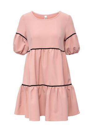Платье Be In. Цвет: розовый