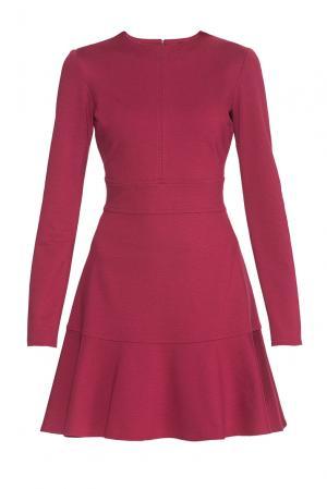 Alessandro Dellacqua Трикотажное платье из вискозы 177245 Dell'acqua. Цвет: красный