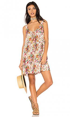 Long beach market day dress AUGUSTE. Цвет: белый