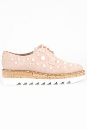 Ботинки Pertini. Цвет: розовый