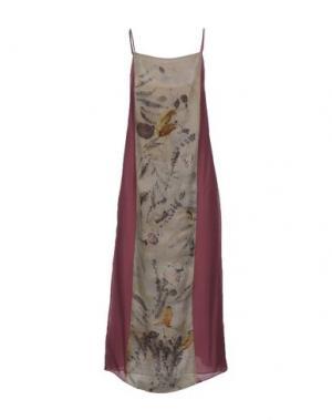Длинное платье MAISON LAVINIATURRA. Цвет: розовато-лиловый