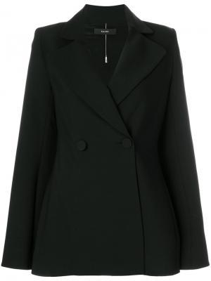 Пиджак с рукавами клеш Boycott Ellery. Цвет: чёрный