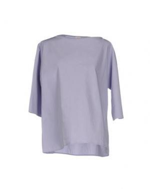 Блузка A.B APUNTOB. Цвет: светло-фиолетовый