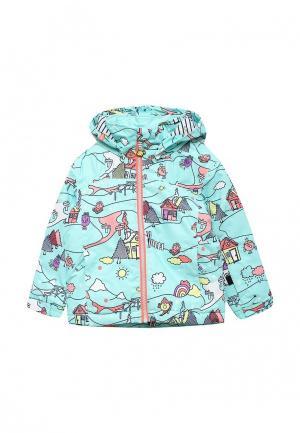 Куртка утепленная Roxy. Цвет: мятный