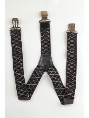 Подтяжки джинсовые INDIVIDUUM. Цвет: черный,серый