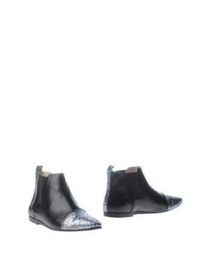 Полусапоги и высокие ботинки LISA C BIJOUX. Цвет: черный