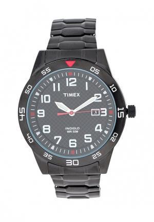 Часы Timex. Цвет: черный