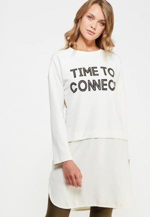 Свитшот H:Connect. Цвет: белый